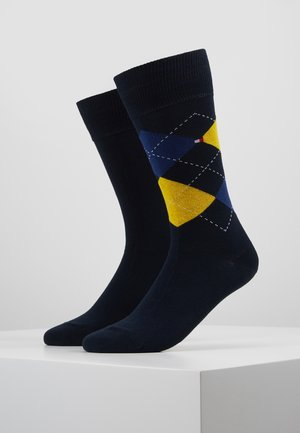 2 PACK - Socks - blue/yellow