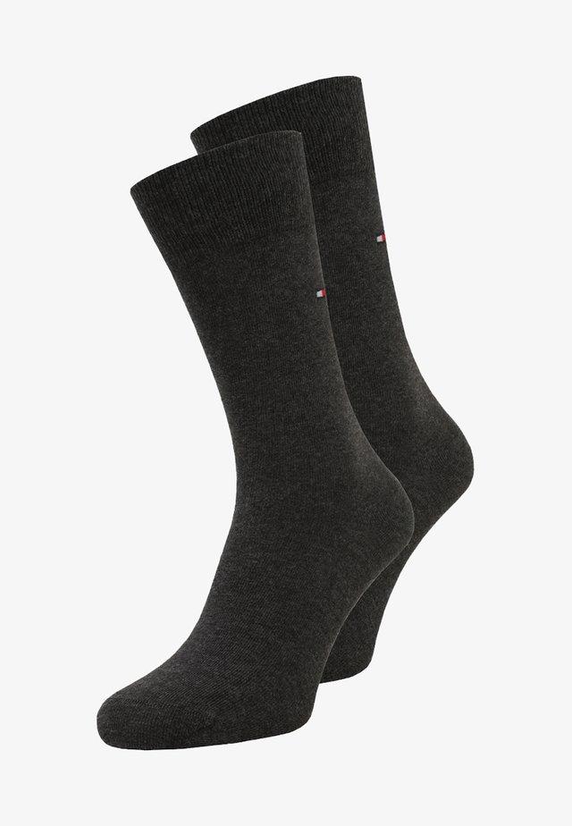 CLASSIC 2 PACK - Socks - anthracite melange