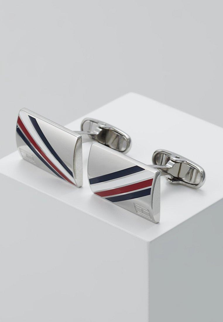 Tommy Hilfiger - DRESSED UP - Manžetové knoflíčky - silver-coloured