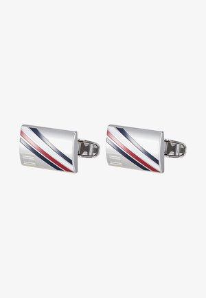 DRESSED UP - Manžetové knoflíčky - silver-coloured