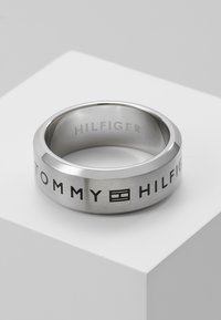 Tommy Hilfiger - CASUAL - Ring - silver-coloured - 0