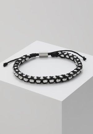 BRACELET - Náramek - silver-coloured/black