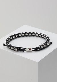 Tommy Hilfiger - BRACELET - Armband - silver-coloured/black - 2