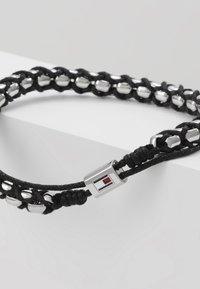 Tommy Hilfiger - BRACELET - Armband - silver-coloured/black - 5