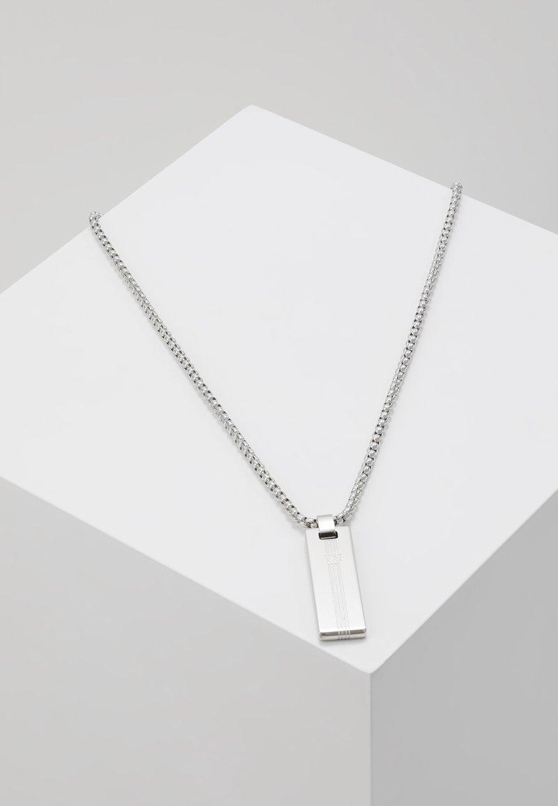 Tommy Hilfiger - NECKLACE - Halskette - silver-coloured