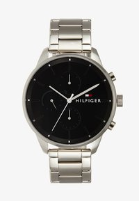 Tommy Hilfiger - CASUAL CHASE - Chronograph watch - silver-coloured/black - 1