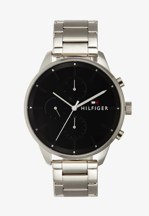 CASUAL CHASE - Chronograaf - silver-coloured/black