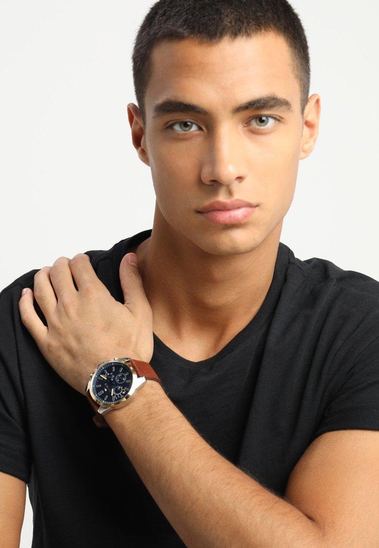 Tommy Hilfiger - DECKER CASUAL - Chronograph watch - blau