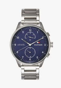 Tommy Hilfiger - CHASE - Montre - silver-coloured/blue - 1