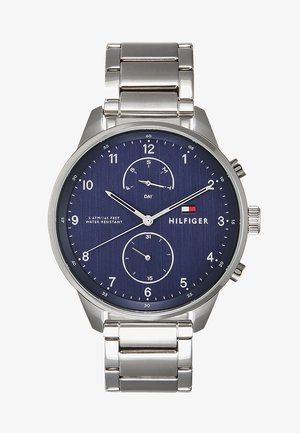 CHASE - Montre - silver-coloured/blue
