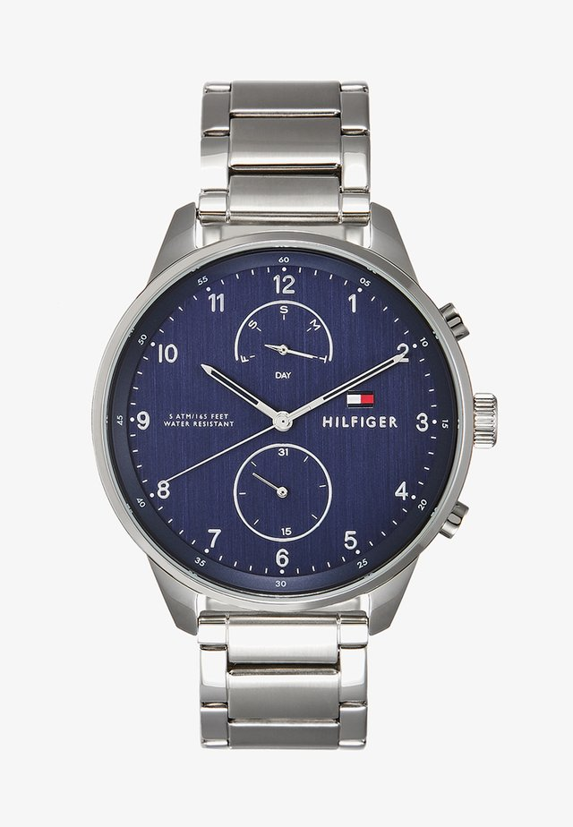 CHASE - Orologio - silver-coloured/blue