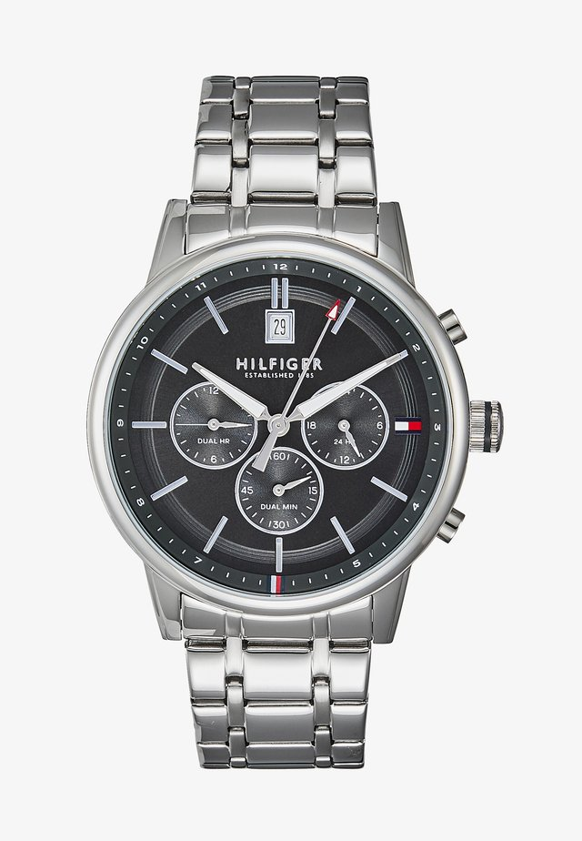CASUAL - Chronograph watch - silver
