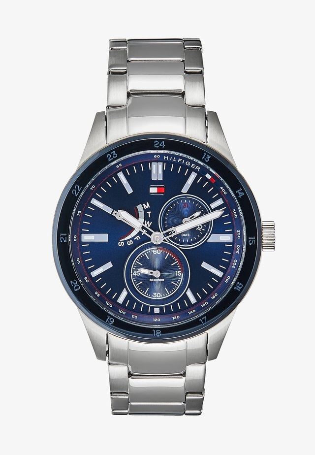 SPORT - Chronograaf - silver-coloured/blue