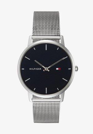 WATCH - Uhr - silver-coloured/blue