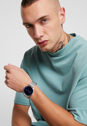 JAMES SET - Zegarek - silver-coloured/blue