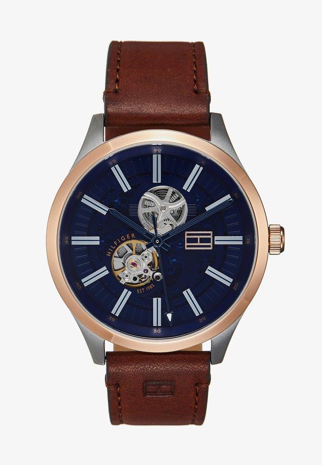 WATCH - Reloj - brown/blue