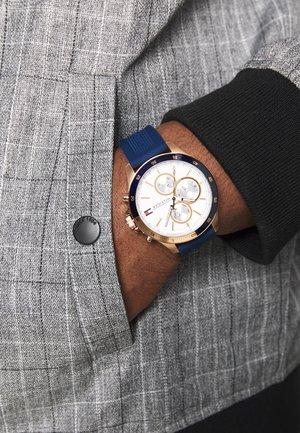 BANK - Horloge - blau
