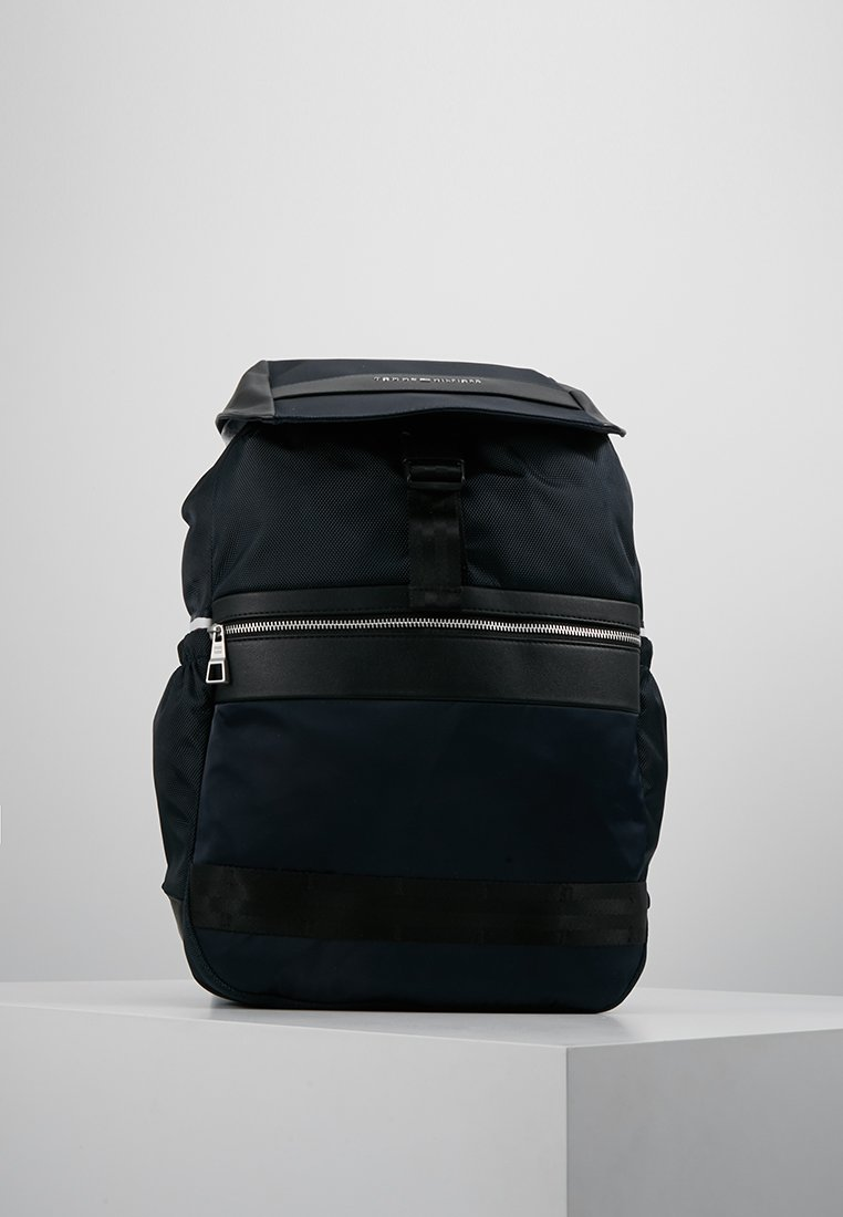 Tommy Hilfiger - MIX FLAP BACKPACK - Ryggsekk - blue