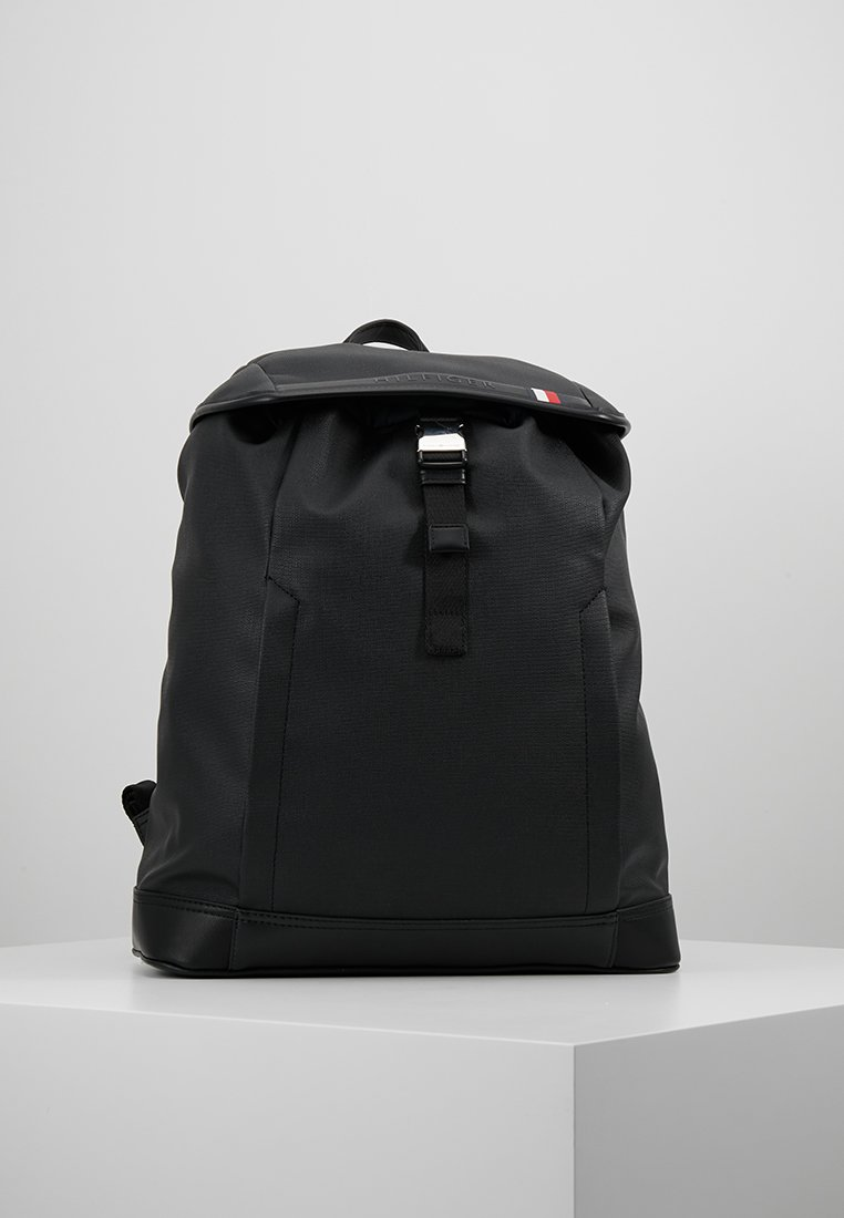 Tommy Hilfiger - COATED BACKPACK - Rucksack - black