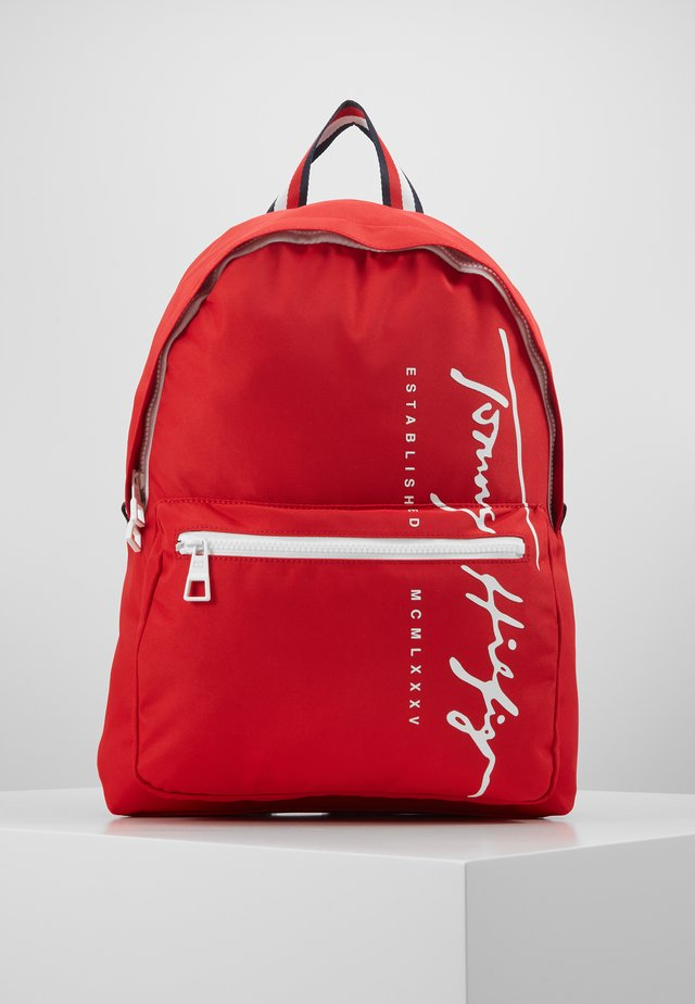 SIGNATURE BACKPACK - Rucksack - red