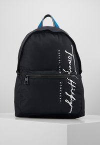 Tommy Hilfiger - SIGNATURE BACKPACK - Plecak - black - 0