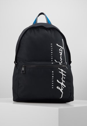 SIGNATURE BACKPACK - Rugzak - black