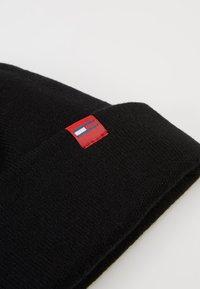 Tommy Jeans - FLAG SHORT BEANIE - Bonnet - black - 5