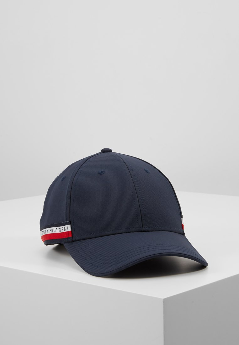 Tommy Hilfiger - CORPORATE  SELVEDGE CAP - Cappellino - blue