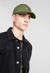 Tommy Jeans - FLAG - Cap - green - 1