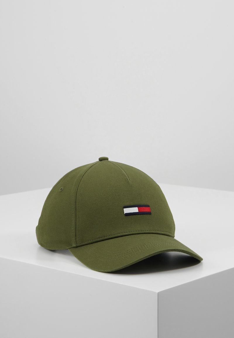Tommy Jeans - FLAG - Cap - green