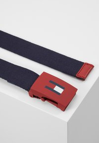 Tommy Hilfiger - KIDS PLAQUE BELT - Pásek - blue - 3