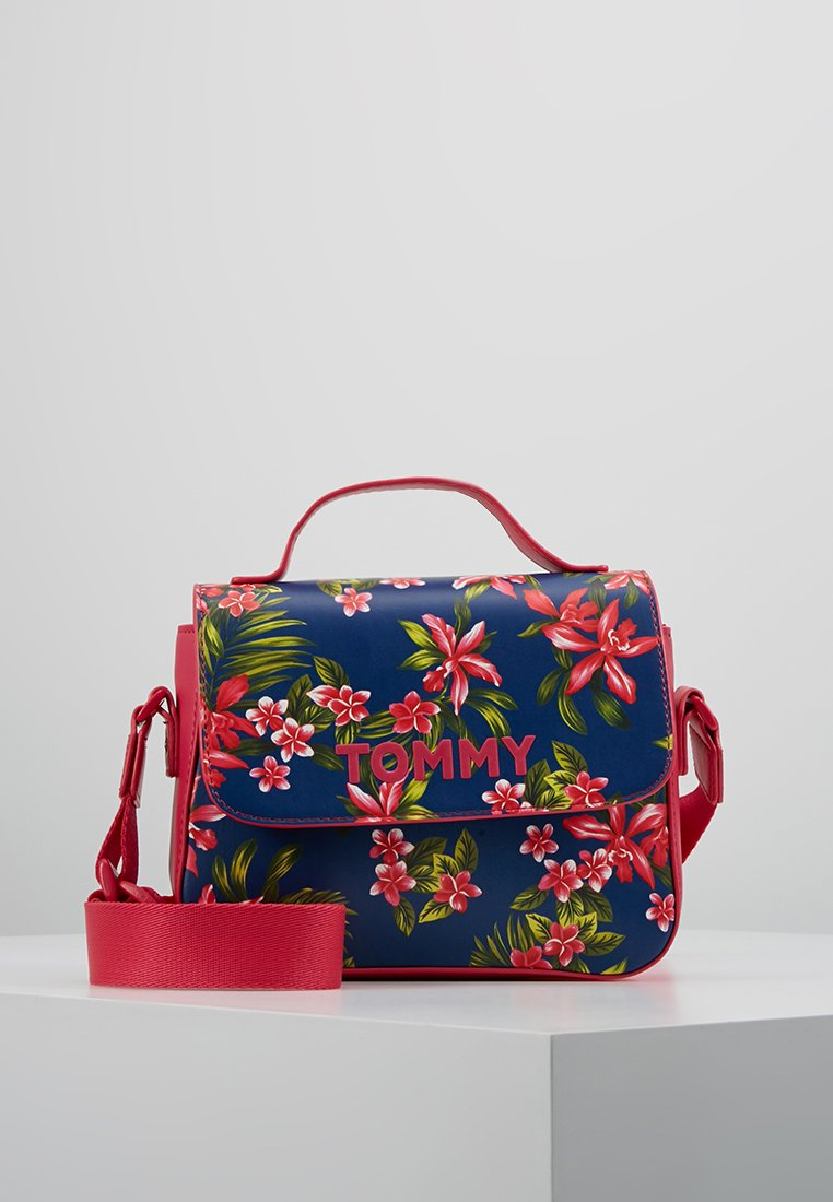 Tommy Hilfiger - GIRL FLOWER CROSSOVER - Torba na ramię - pink