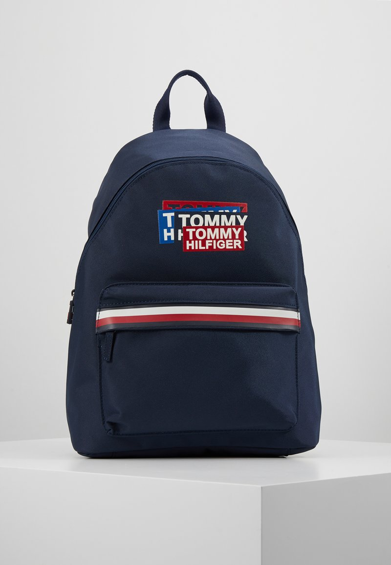 Tommy Hilfiger - KIDS CORP BACKPACK - Tagesrucksack - blue