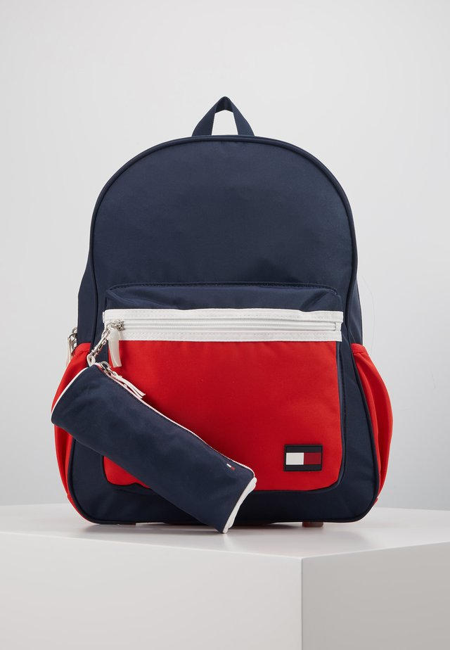 NEW ALEX BACKPACK SET - Skoletasker - blue