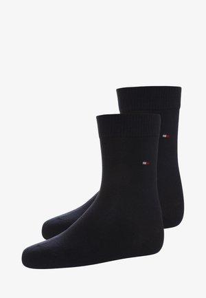 BASIC 2 PACK - Ponožky - midnight blue