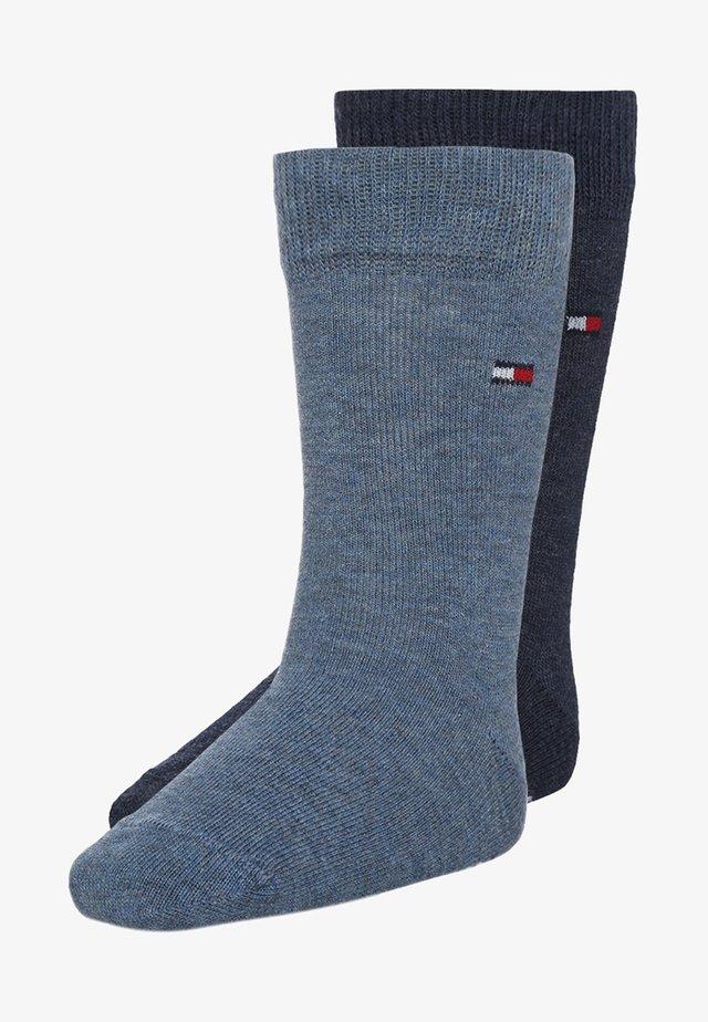 BASIC 2 PACK - Socks - blue