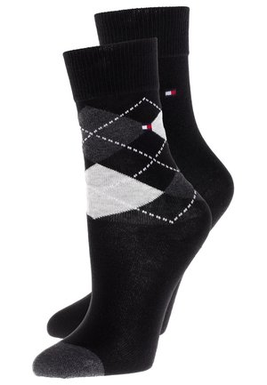 ORIGINAL ARGYLE 2 PACK - Strømper - black