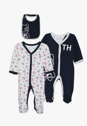 BABY PREPPY MASCOT GIFTBOX SET - Geboortegeschenk - black iris