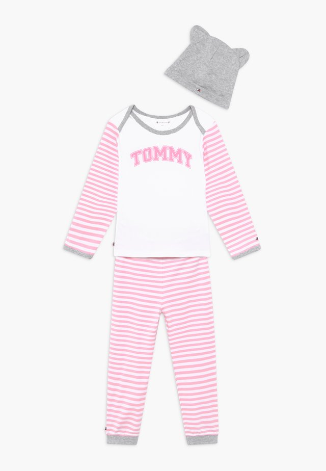 BABY STRIPED GIFTPACK SET - Trousers - pink