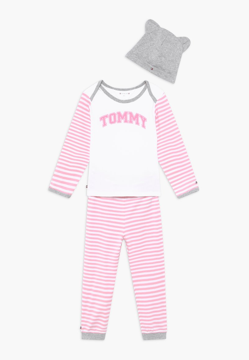 Tommy Hilfiger - BABY STRIPED GIFTPACK SET - Trousers - pink