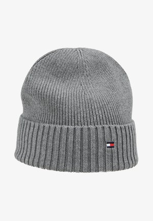 FLAG BEANIE - Berretto - grey