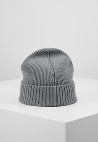 Tommy Hilfiger - FLAG BEANIE - Berretto - grey - 0