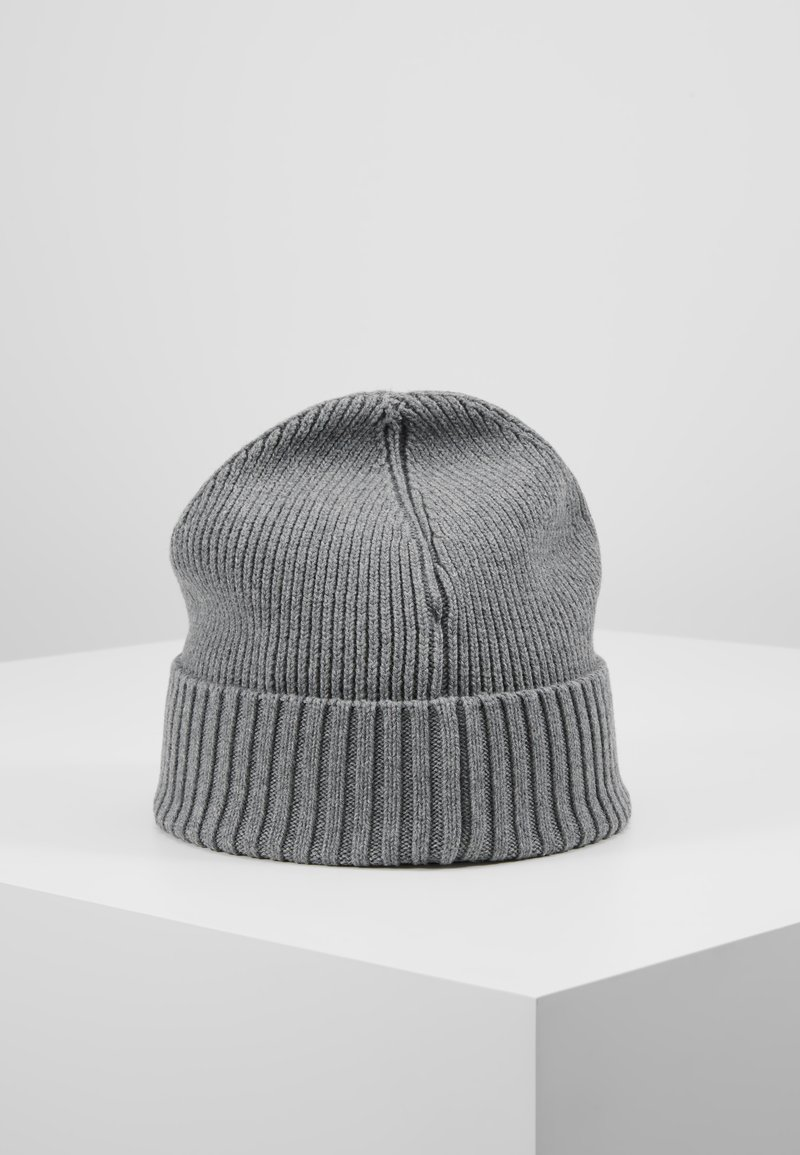 Tommy Hilfiger - FLAG BEANIE - Berretto - grey