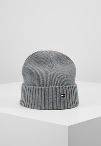 Tommy Hilfiger - FLAG BEANIE - Berretto - grey - 1
