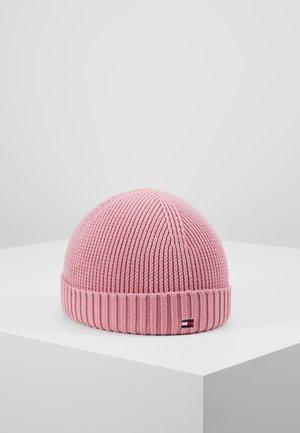 FLAG BEANIE GIRLS - Muts - pink
