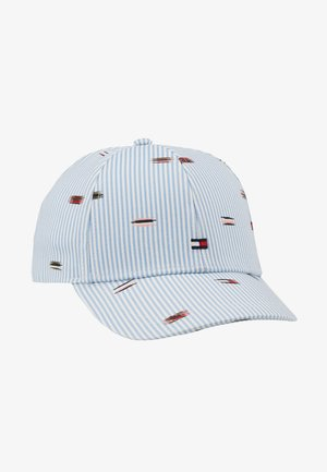 EMBROIDERED FLAGS BB CAP - Pet - blue