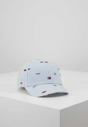 EMBROIDERED FLAGS BB CAP - Cappellino - blue