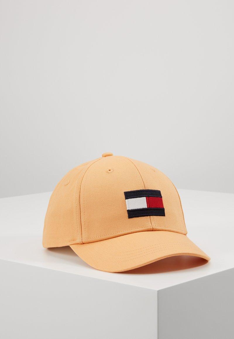Tommy Hilfiger - BIG FLAG CAP - Kšiltovka - orange
