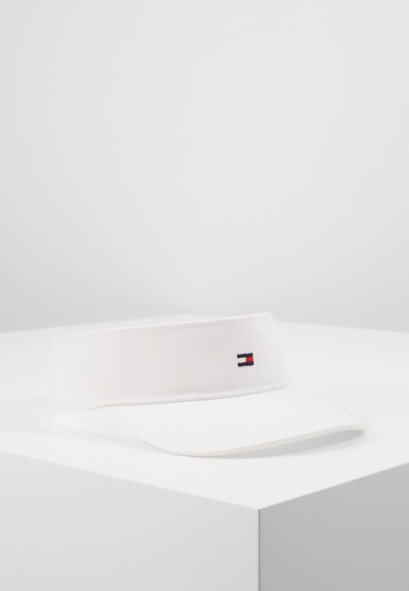 Tommy Hilfiger - FLAG VISOR - Lippalakki - white