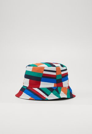 FLAG PRINT BUCKET - Chapeau - blue